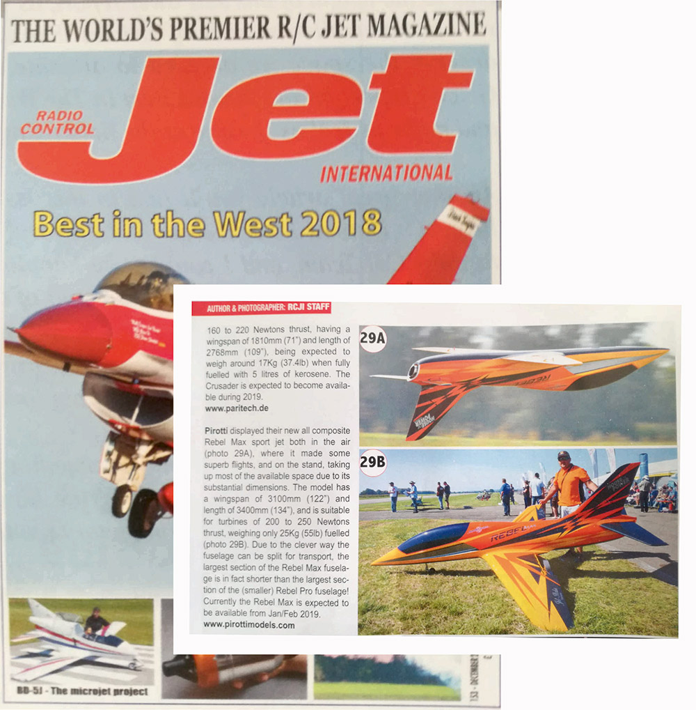 Jet International - Jet Power 2018 - Pirotti Models